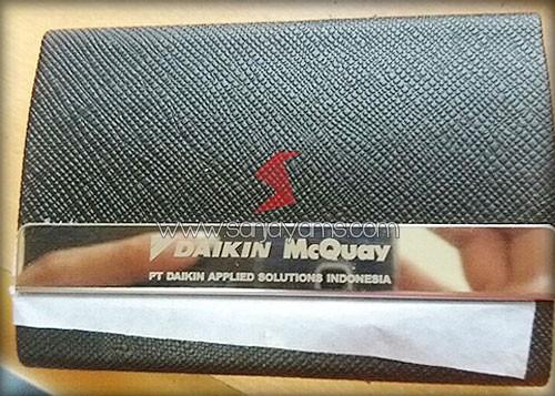 Hasil cetak laser logo PT Daikin