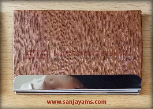 Kulit cokelat motif serat kayu