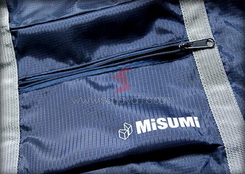 Hasil cetak 1 warna logo Misumi