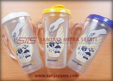 Tumbler Colorful + Gagang (TC03)