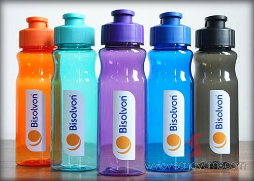 Cetakan logo 3 warna - logo Bisolvon