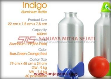 Spesifikasi tumbler Indigo