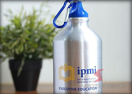 Detail Hasil Cetakan Logo IPMI pada tumbler indigo