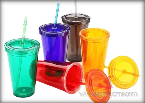 5 Pilihan warna Tumbler Straw