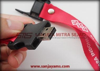 Tampak detail USB lanyard