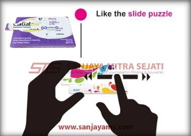 Memainkan USB Kartu Puzzle