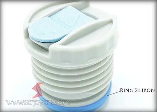 Detail tutup thermos
