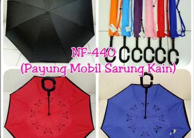 Terdapat 6 warna Model Payung Terbalik Kazbrella