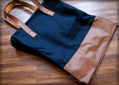Goodie Bag Jeans Kombinasi Kulit