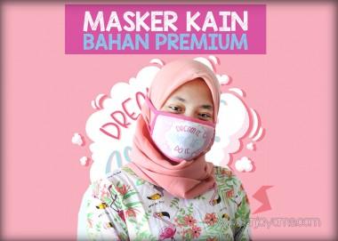 Masker Kain Premium (Tali)