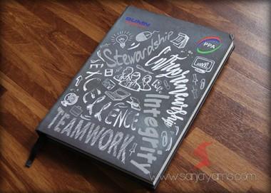 Memo A5 Hard cover (BC04)