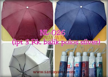 Payung Lipat 3 (NL-026)
