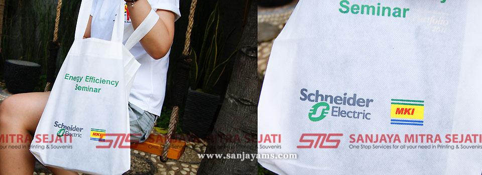 Jahit Tas Spunbond Jakarta Sablon Logo Perusahaan