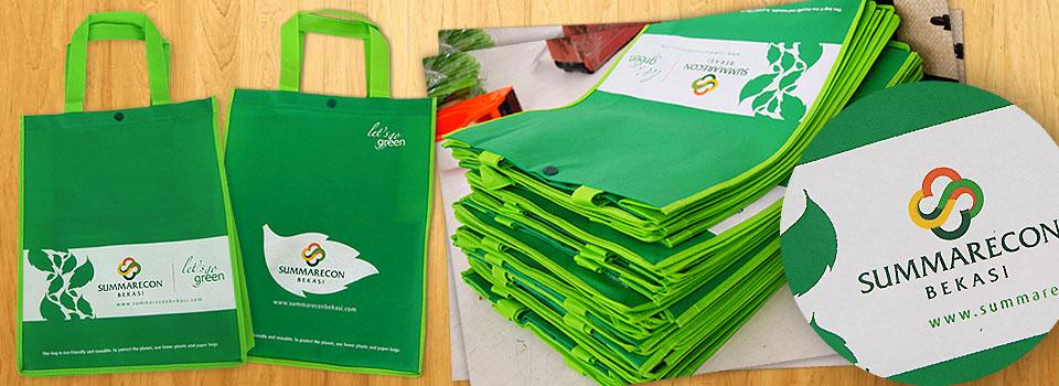 Tas Spunbond Go Green Summarecon Bekasi