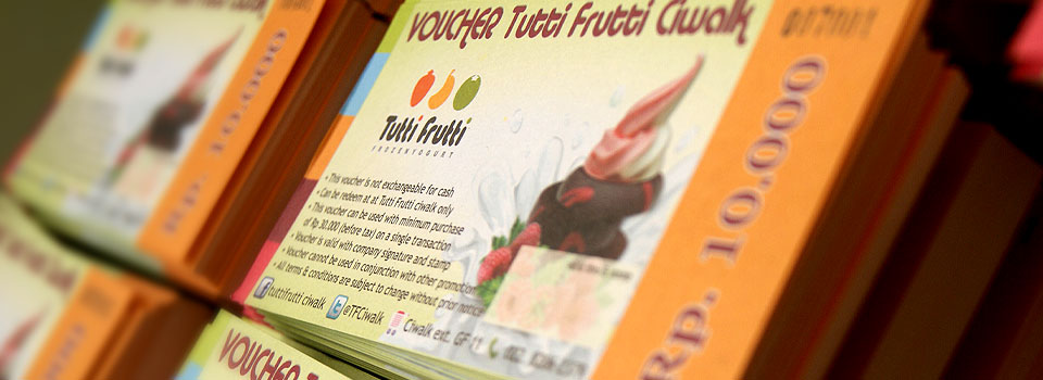Voucher Tutti Frutti Numerator