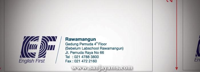 Amplop EF Rawamangun