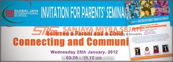 Brosur Invitation Global Jaya School