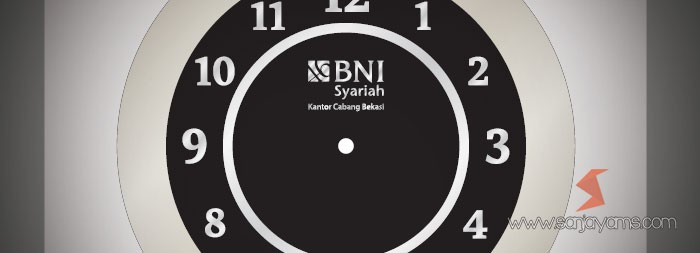 Jam BNI Syariah Bekasi