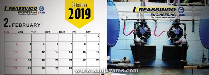 Kalender Meja 2019 Kreassindo