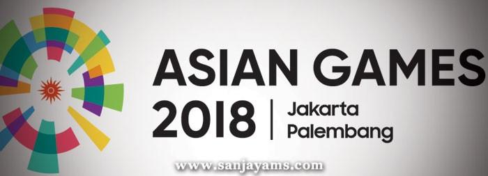 Kipas Plastik Asian Games 2018
