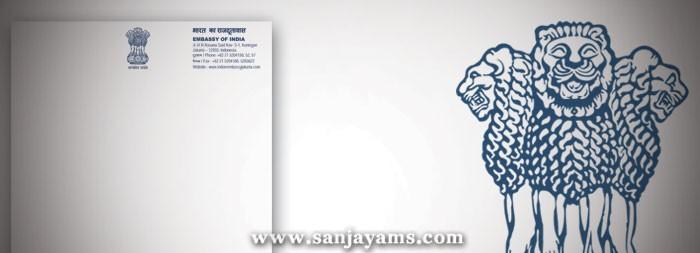 Kop Surat Embassy India