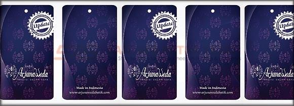 Label Baju Batik Arjunaweda Update