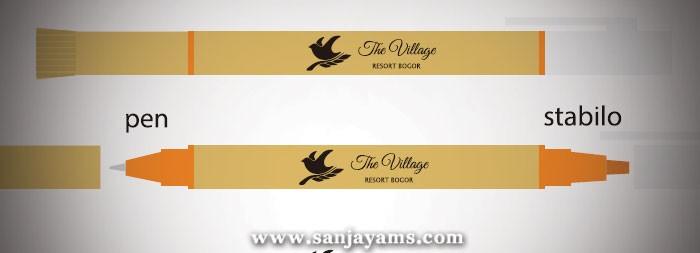 Pen Daur Ulang Stabilo Village Resort Bogor