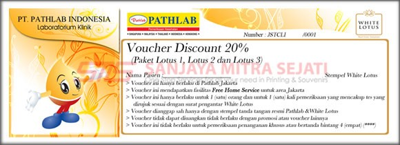 Voucher Pathlab Indonesia & White Lotus