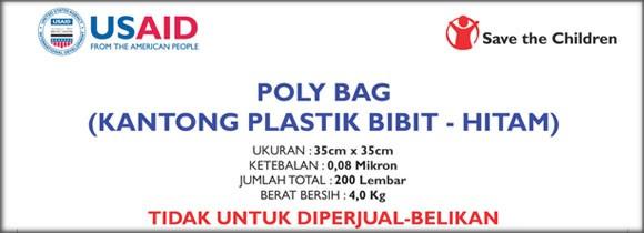 Stiker Chromo Poly Bag - Save The Children