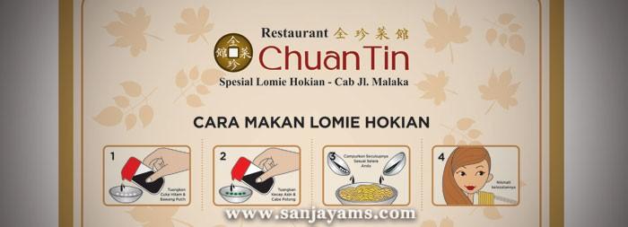 Placemat Resto Chuan Tin