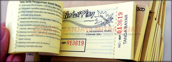 Tiket Renang Waterplay dengan Nomerator