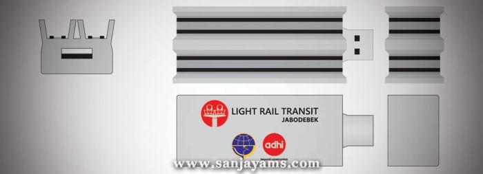 USB Rubber LRT Adhi Karya