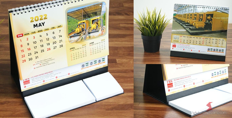 Cetak Kalender 2022 Design Terbaru
