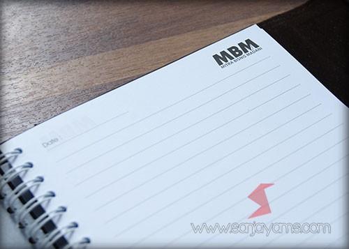 Detail kertas agenda - MBM