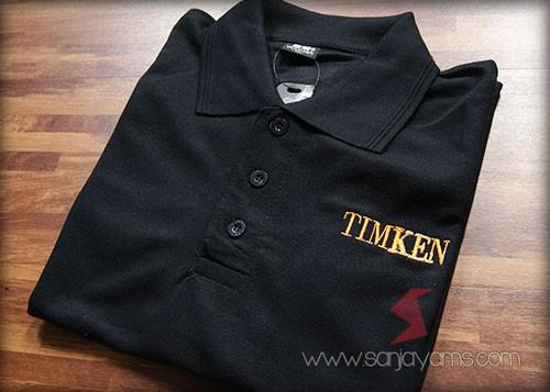 Baju dengan warna hitam - Timken