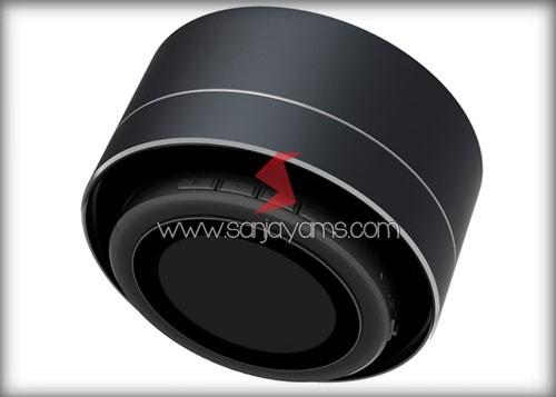 Bluetooth speaker warna hitam
