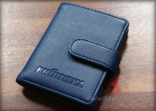 Dompet kulit logo - Bhineka