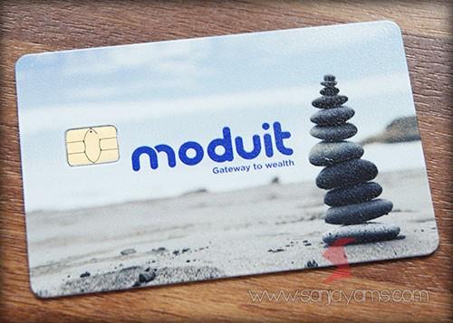 E-money dengan cetakan logo - Moduit