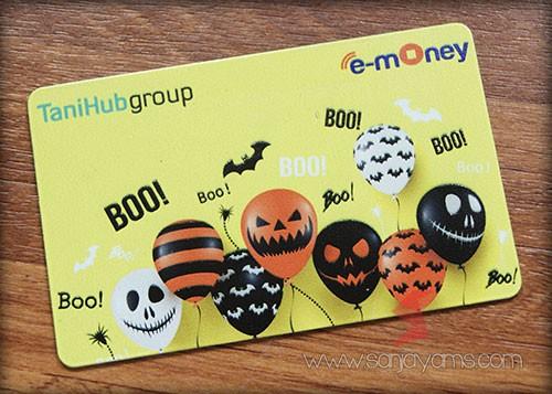E-money dengan cetakan logo - Tanihub group