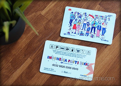 E-money dengan cetakan logo - Penerbit Erlangga