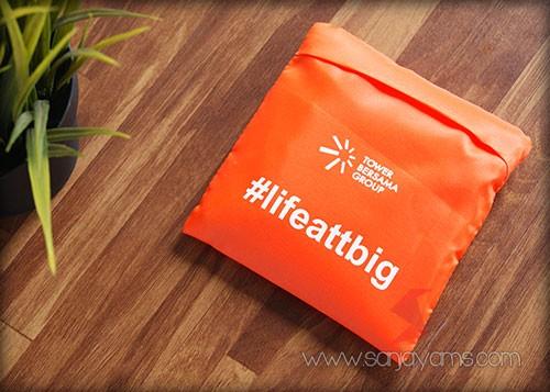 Goodie bag lipat - TowerBersama