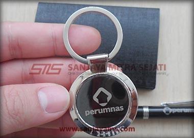 Detail tampilan gantungan kunci