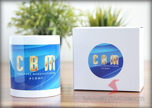 Mug keramik - CBM