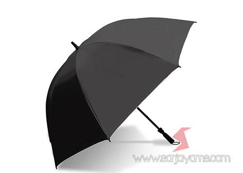 Payung Golf warna hitam