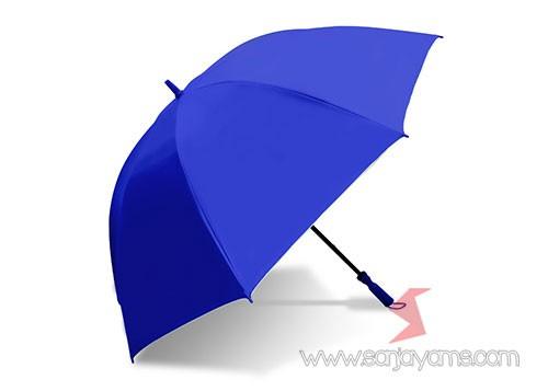 Payung golf warna Biru