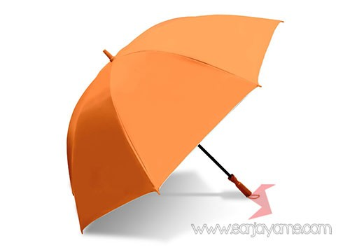 Payung golf warna oranye