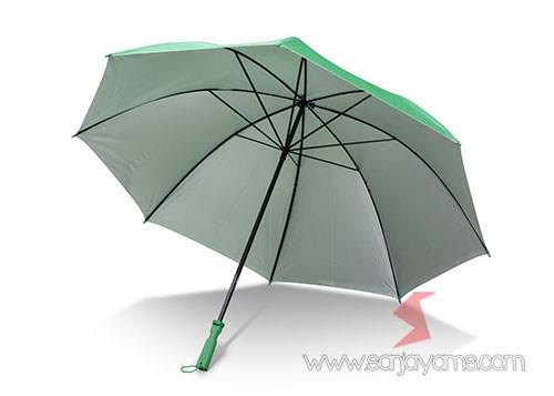 Detail bagian dalam payung golf