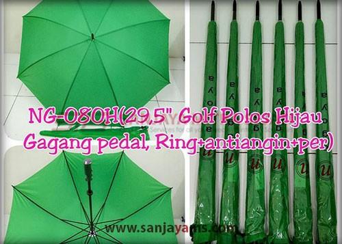 Payung golf warna hijau