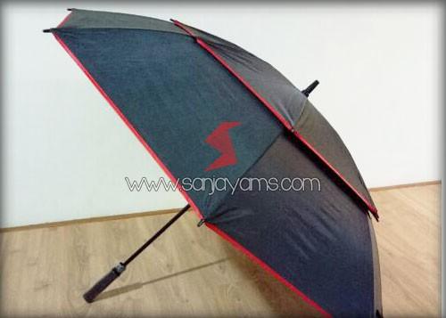 Payung posisi terbuka