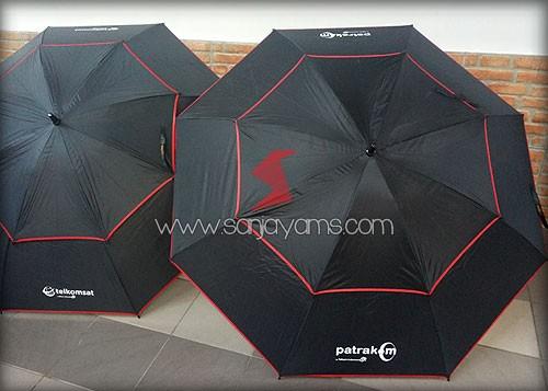 Cetakan sablon 1 warna logo - Patrakom